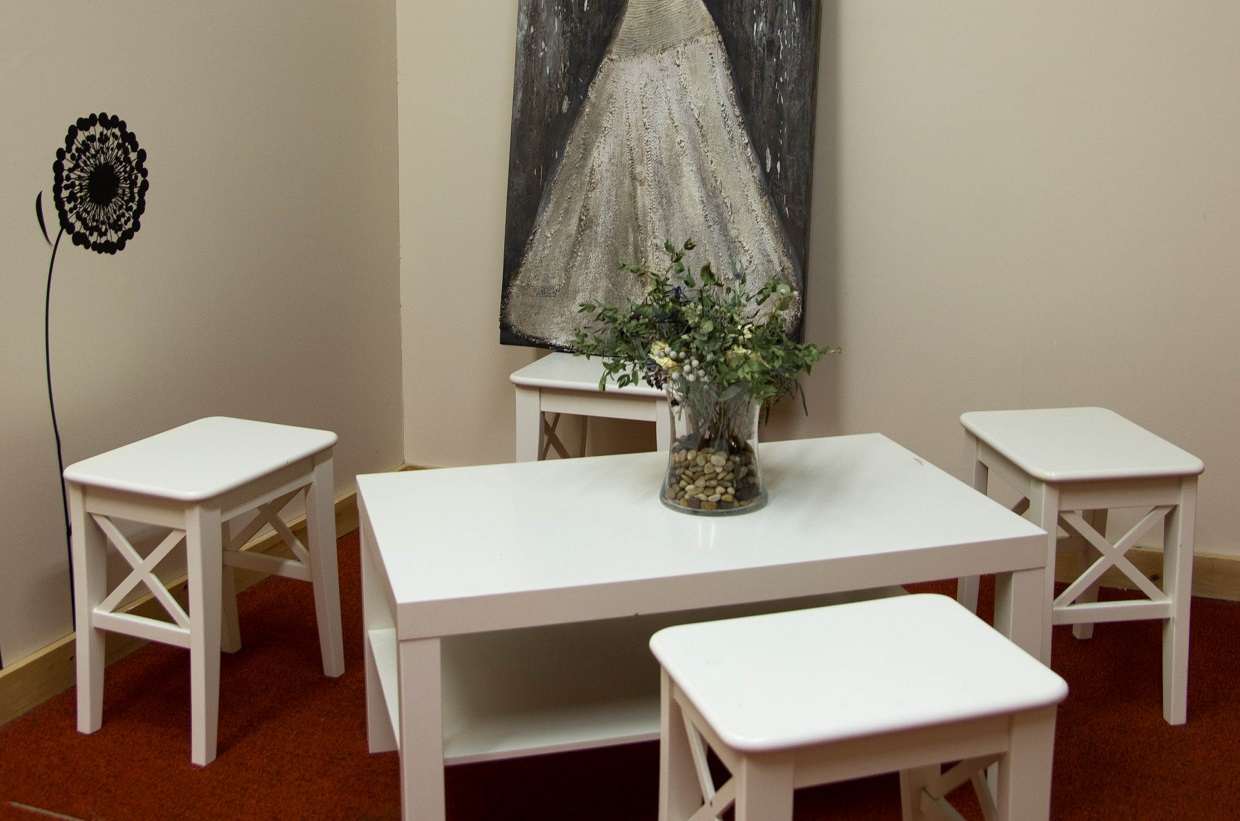 bridal suite at Kortright Centre