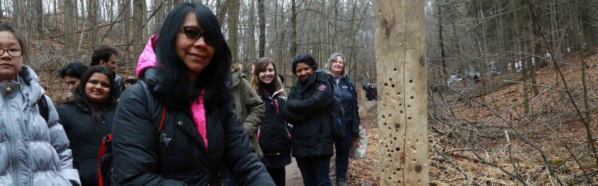 ESL students visit Maple Syrup Festival at Kortright Centre