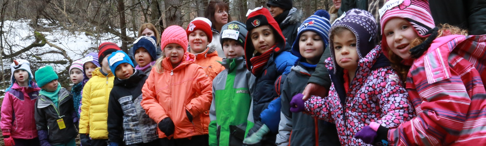children visit Maple Syrup Festival at Kortright Centre