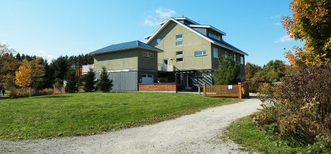archetype sustainable house at Kortright Centre for Conservation