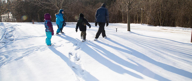 Little Saplings Parent & Tot Program – Winter @ Kortright Centre for Conservation