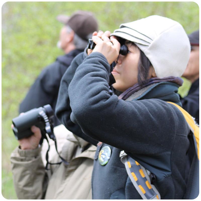 adult birding workshop at Kortright Centre
