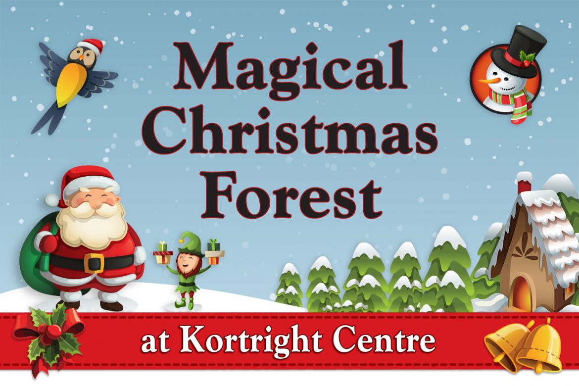 Magical Christmas Forest at Kortright Centre
