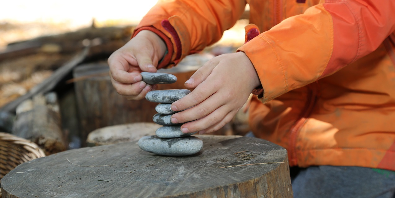 primary student takes part in Nature School program at Claireville Conservation Area