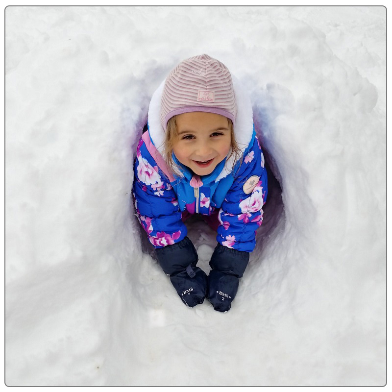 camper enjoys outdoor activities at Claireville Conservation Area winter camp